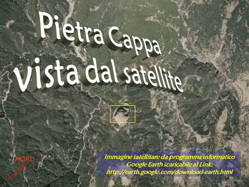 Immagine satellitare da programma informatico Google Earth scaricabile al Link: http://earth.google.com/download-earth.html NORD