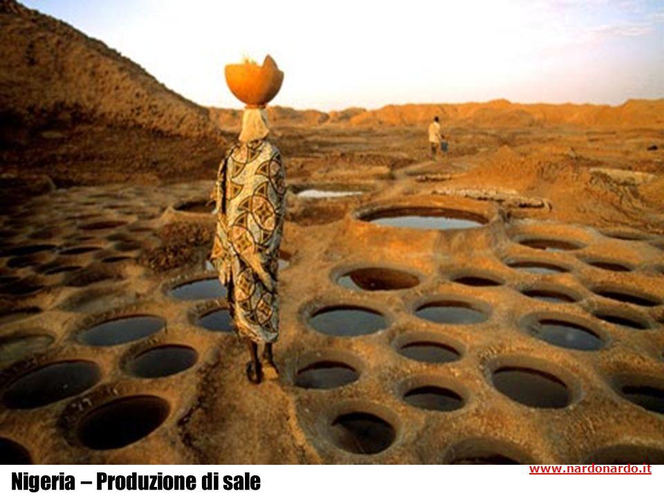 Nigeria – Produzione di sale www.nardonardo.it