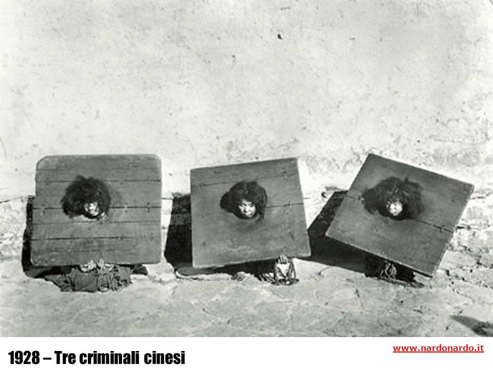 1928 – Tre criminali cinesi www.nardonardo.it