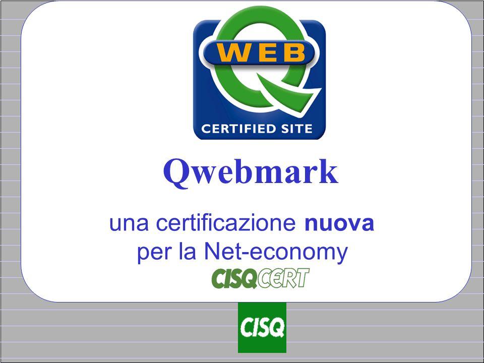 Qwebmark una certificazione nuova per la Net-economy