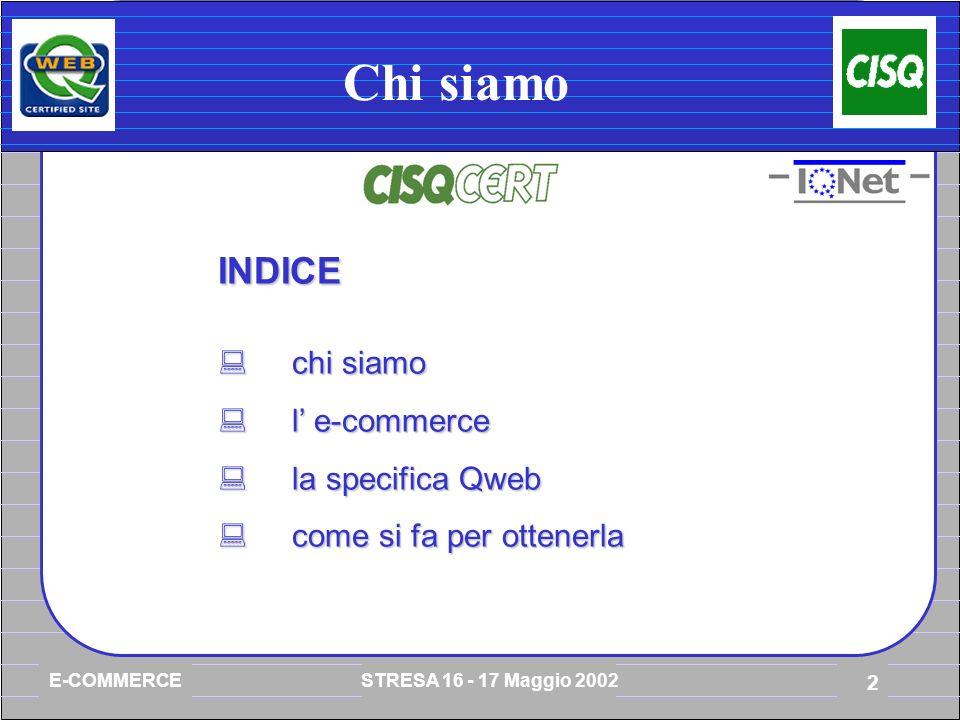 E-COMMERCE STRESA 16 - 17 Maggio 2002 23 Qweb multilingue