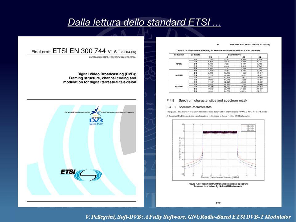 Dalla lettura dello standard ETSI...