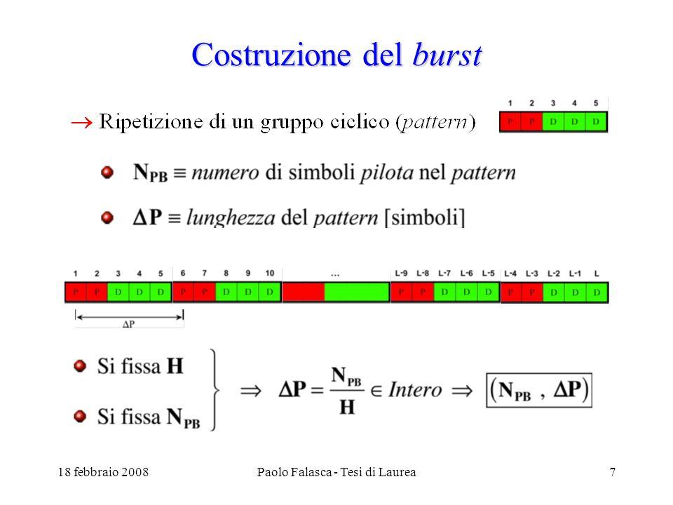 18 febbraio 2008Paolo Falasca - Tesi di Laurea8 Risultati – (1,10)