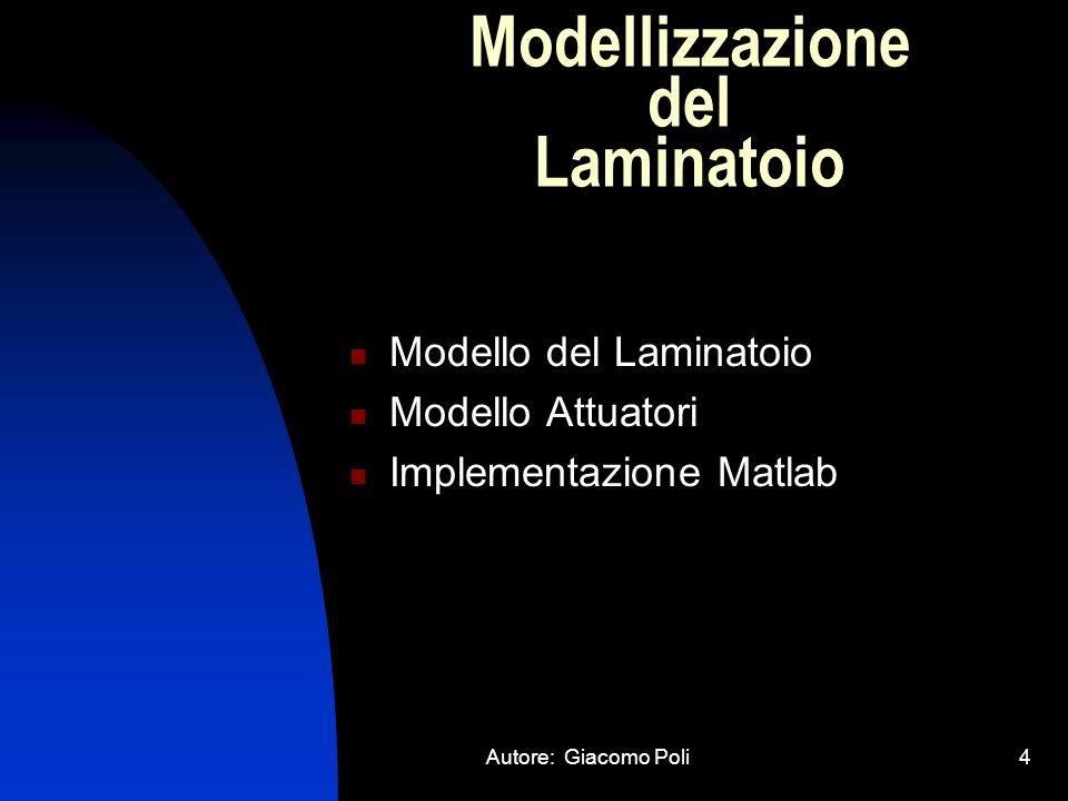 Autore: Giacomo Poli35 Visualizzazione Risultati