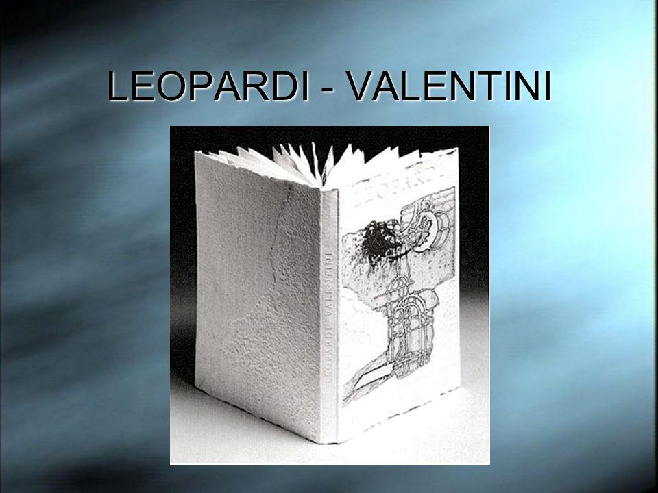 LEOPARDI - VALENTINI
