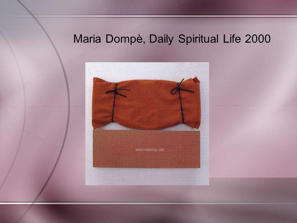 Maria Dompè, Daily Spiritual Life 2000