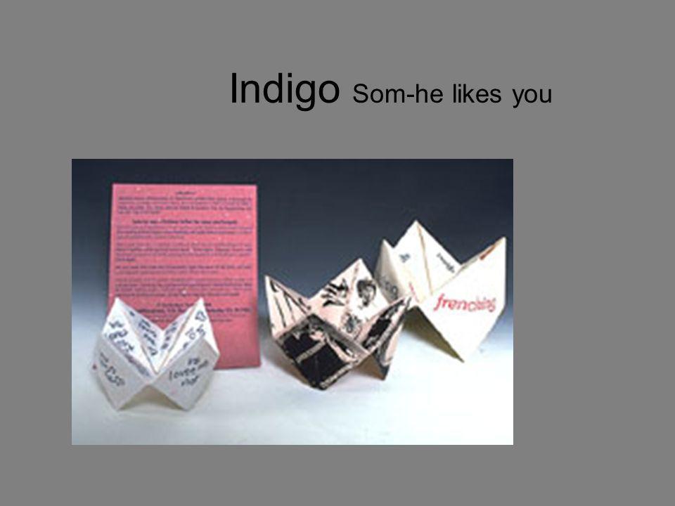 Indigo Som-he likes you