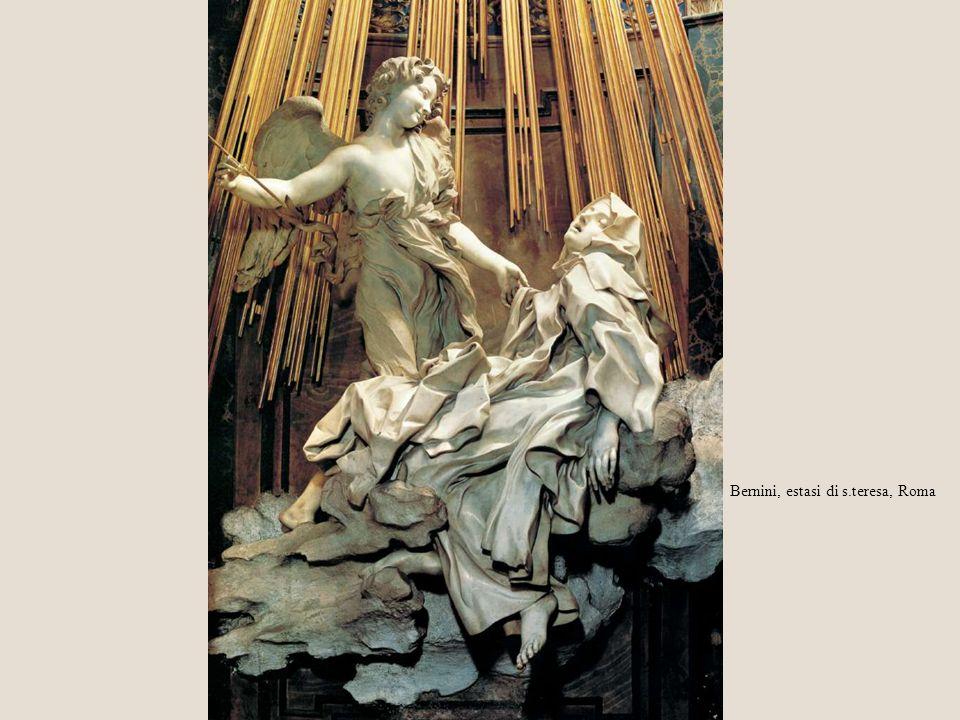 Bernini, estasi di s.teresa, Roma
