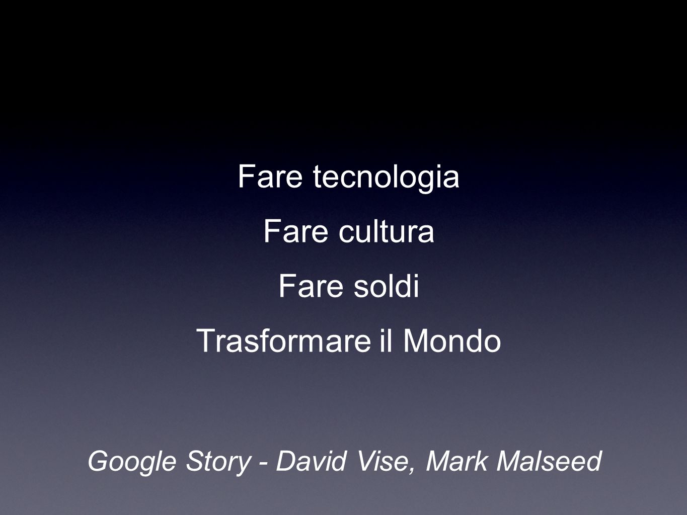 Silicon Valley Italia (2006): 26 M Dati: Ernest & Young Global VC report