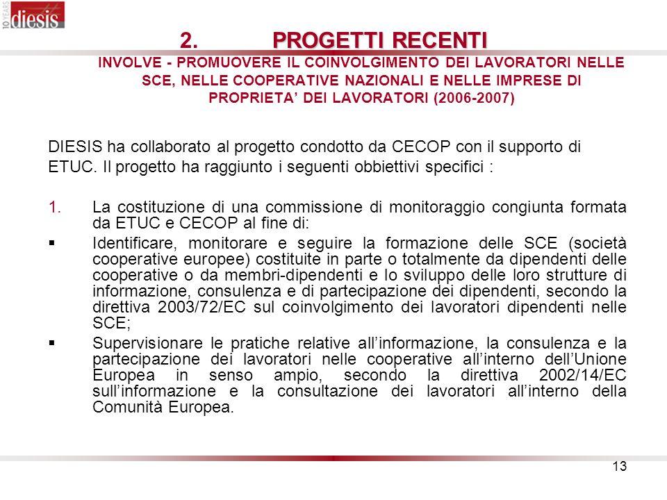 13 PROGETTI RECENTI 2.