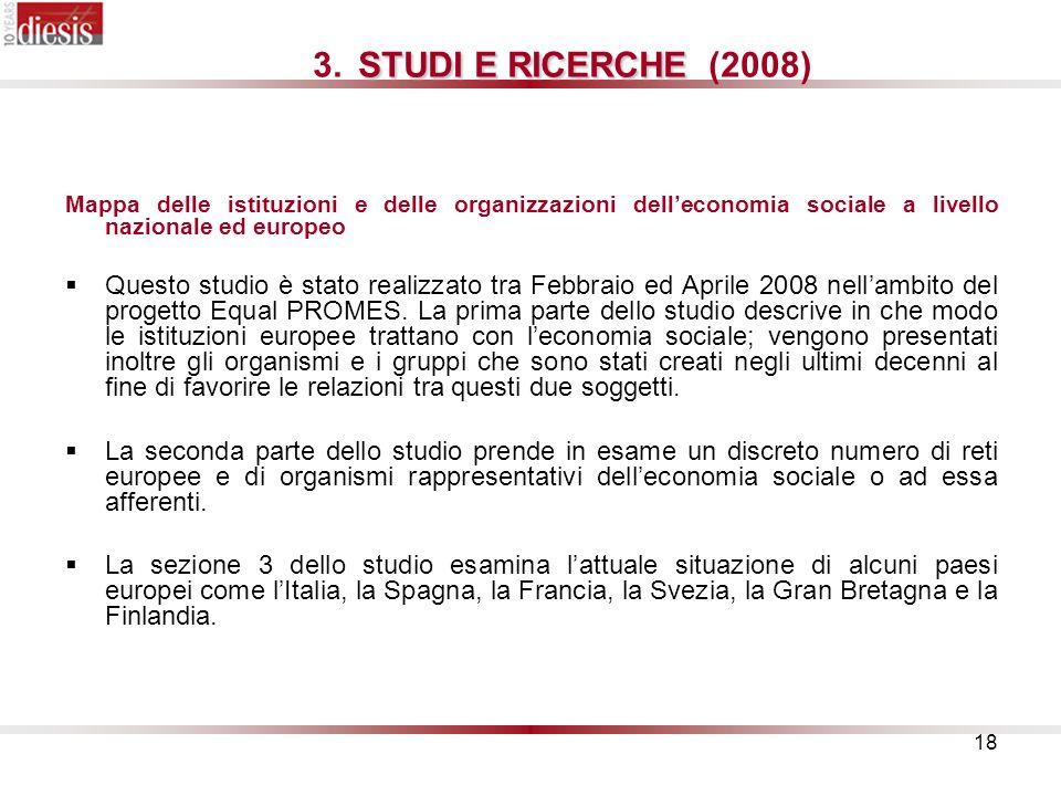 18 STUDI E RICERCHE 3.