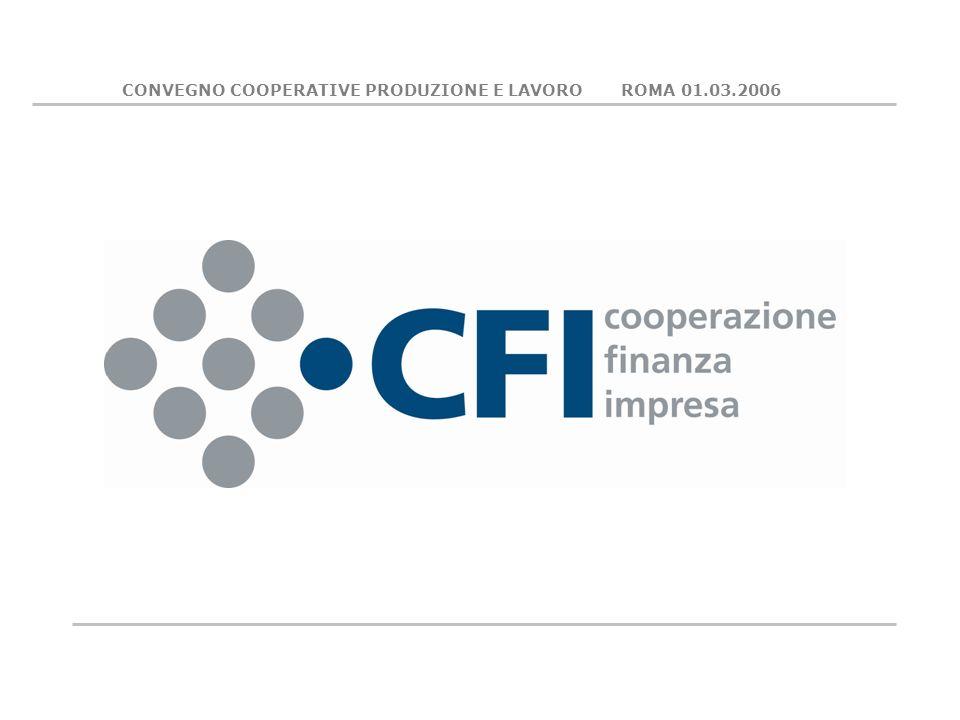 CONVEGNO COOPERATIVE PRODUZIONE E LAVORO ROMA 01.03.2006