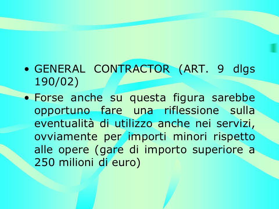 GENERAL CONTRACTOR (ART.