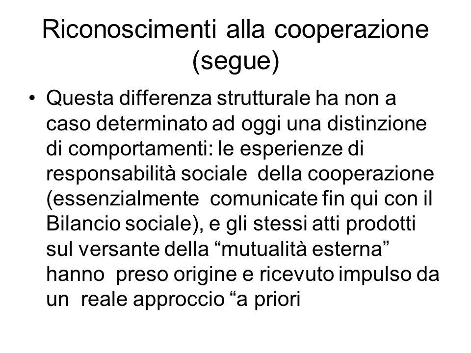 Cerchiamo di mantenere il vantaggio ….(segue) Vantaggi anche di elaborazione teorica: –ad es.