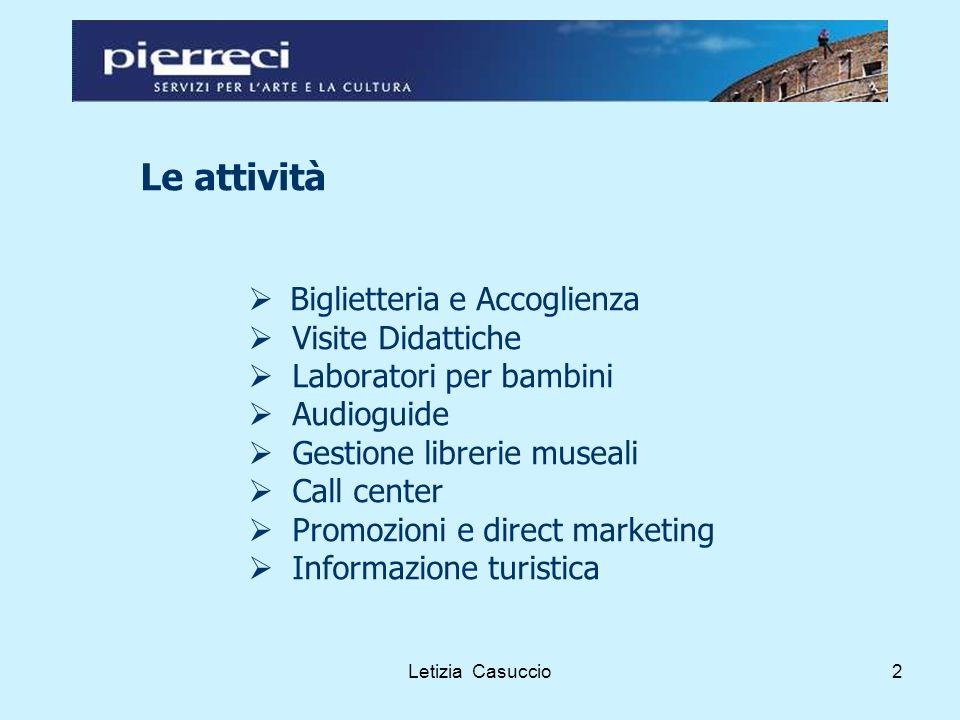 Letizia Casuccio13 Le modalità di consultazione: gli stakeholders esclusi Quando si escludono.