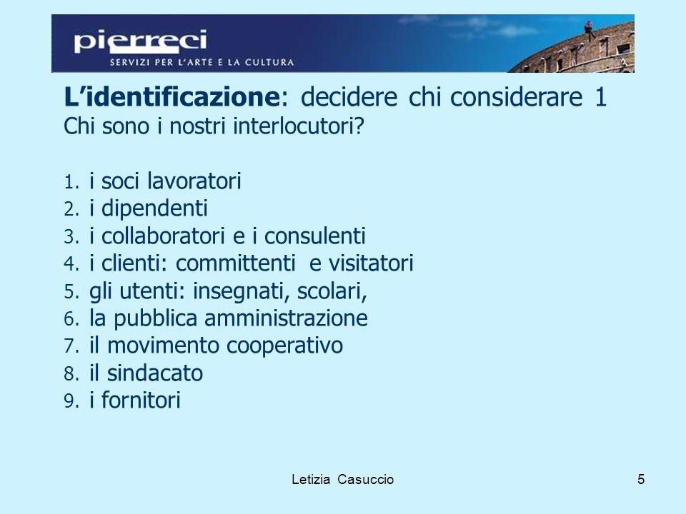 Letizia Casuccio16 Prendere sul serio la responsabilità sociale aiuta a migliorare le performance aziendali.