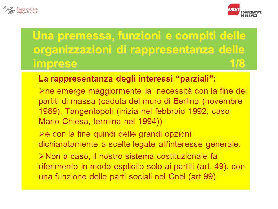 Organizzazione Legacoop Legacoop si articola: a livello territoriale in 20 Strutture Regionali 76 Strutture Provinciali a livello settoriale in 9 Associazioni Nazionali di settore 1 settore nazionale (Cooperative Turistiche) Corso Formazione Consiglieri CdA Imprese Cooperative di Servizi - Bologna, 21 ottobre 2009