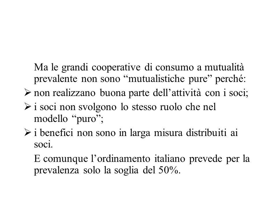 Le misure compatibili Pur essendo considerate aiuti di stato sono dichiarate compatibili, in ragione dei vincoli sottostanti: La deduzione degli utili portati a riserva legale per le grandi cooperative a m.p.
