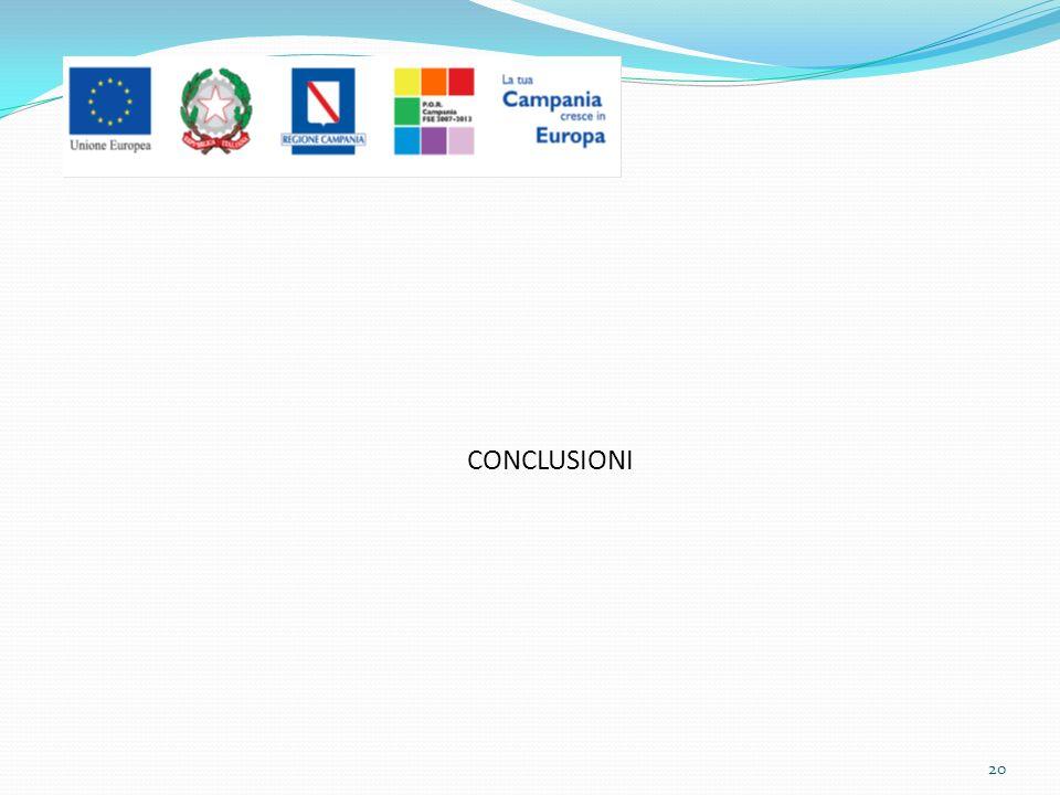 CONCLUSIONI 20