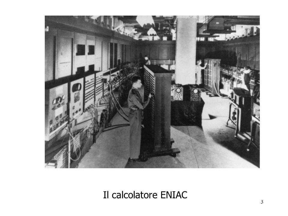 3 Il calcolatore ENIAC