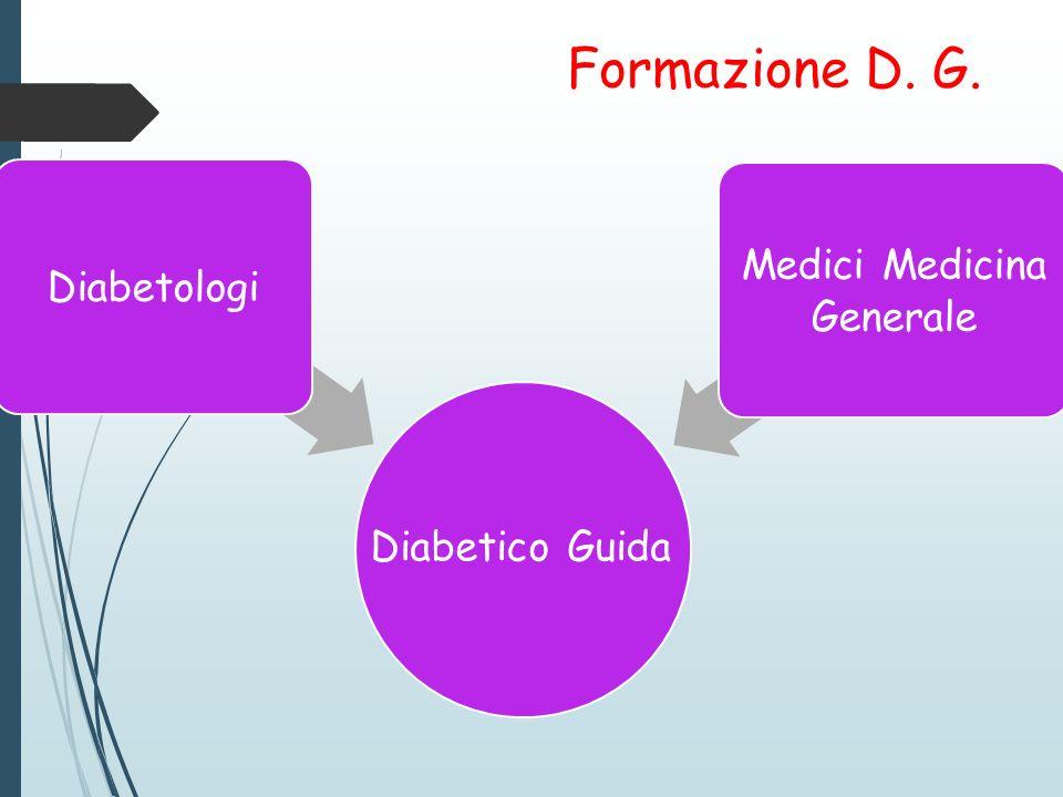 Formazione D. G. Diabetologi Medici Medicina Generale Diabetico Guida