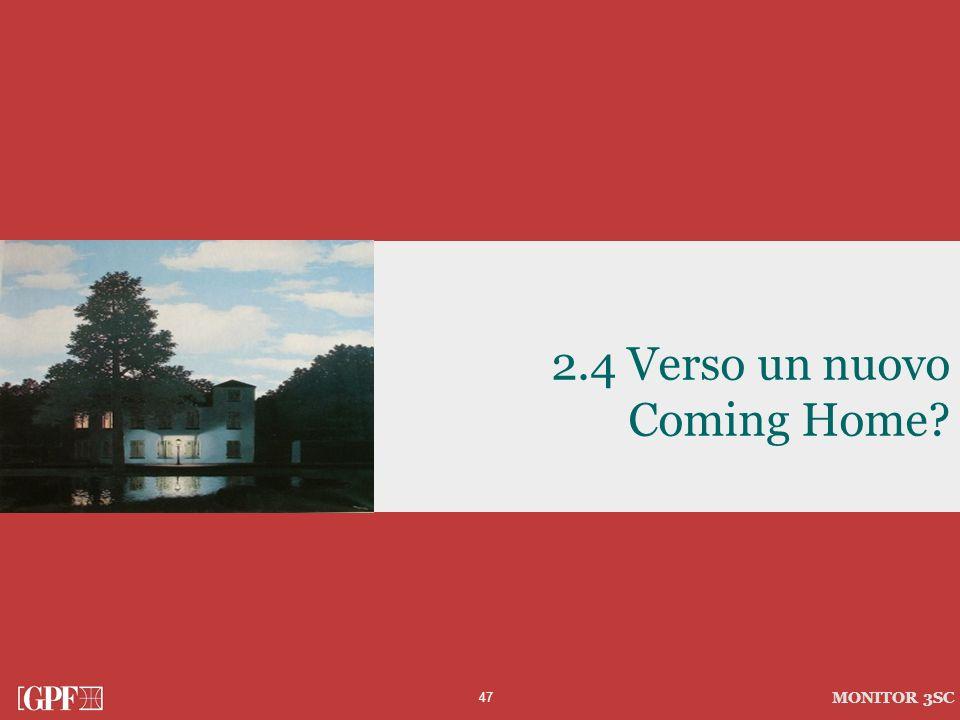 47 MONITOR 3SC 2.4 Verso un nuovo Coming Home?