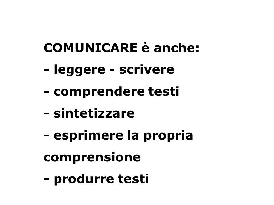La competenza comunicativa è lobiettivo fondamentale e la risposta urgente ai bisogni dei discenti che affrontano litaliano L2.