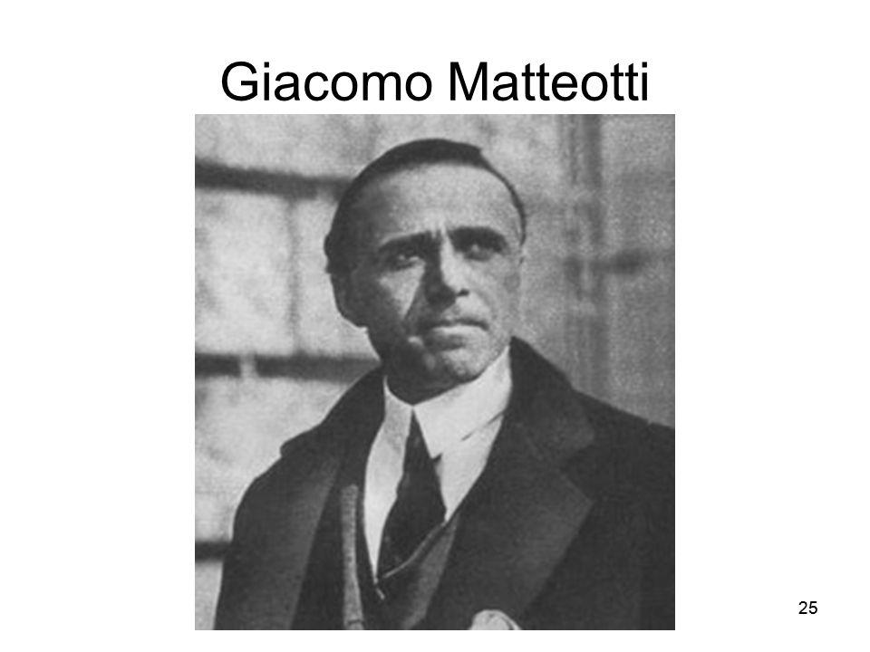 25 Giacomo Matteotti