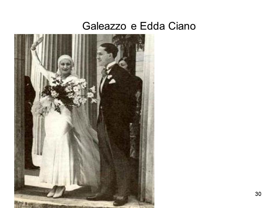 30 Galeazzo e Edda Ciano