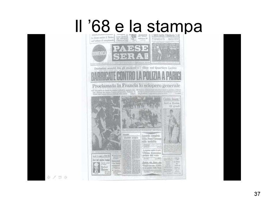 37 Il 68 e la stampa