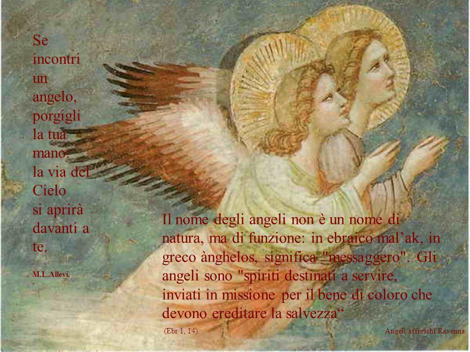 O angeli tutti del Signore, vi supplichiamo per lumanità intera perché conosca il vero e solo Dio, il Figlio da lui inviato e la Chiesa colonna di ver