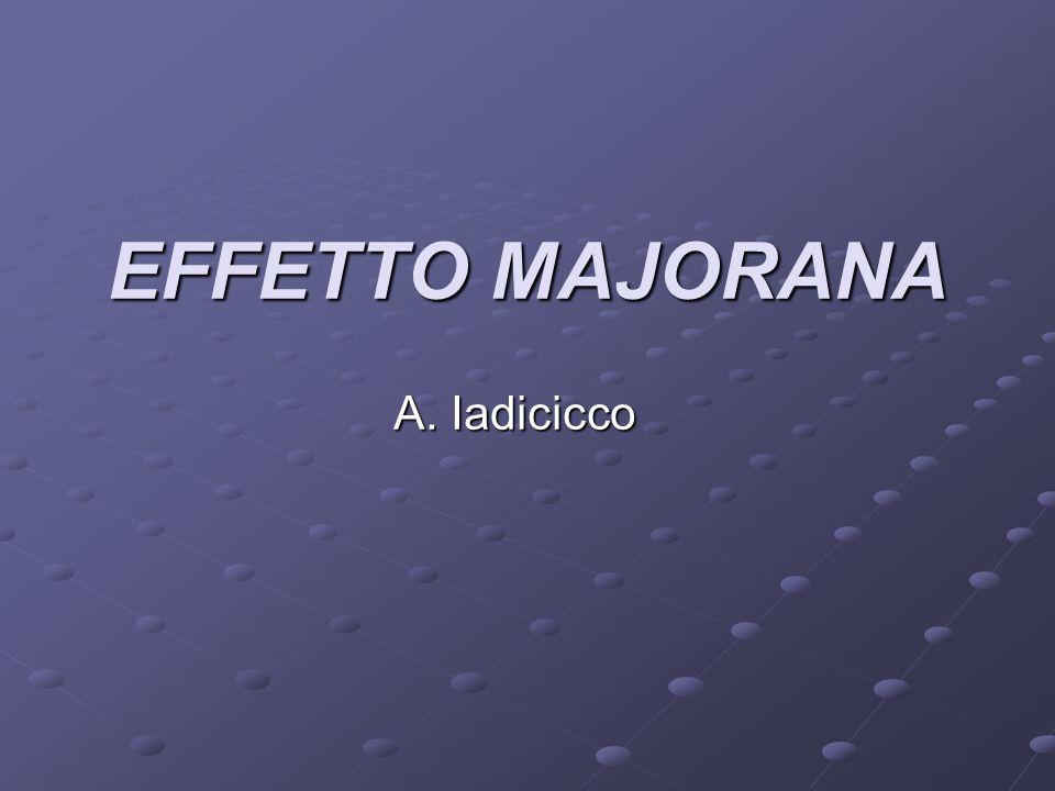 Quirino Majorana (zio di Ettore, noto al pubblico per la sua misteriosa scomparsa nel 1938),nacque a Catania nel 1871, e mori a Rieti nel 1957.