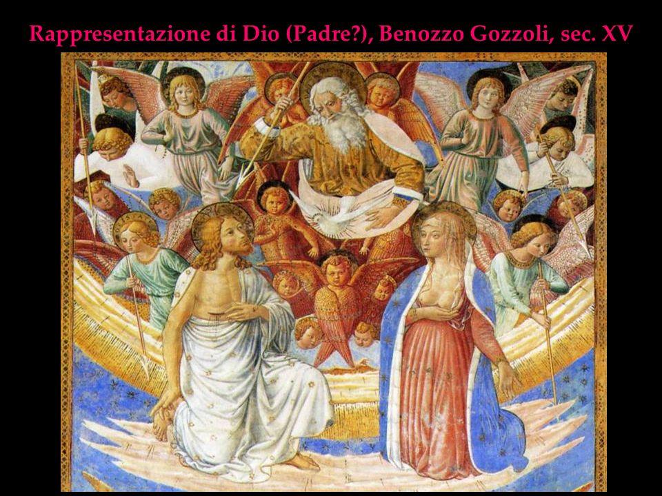 Rappresentazione di Dio (Padre?), Benozzo Gozzoli, sec. XV