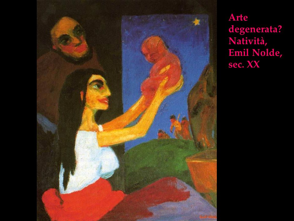 Arte degenerata? Natività, Emil Nolde, sec. XX