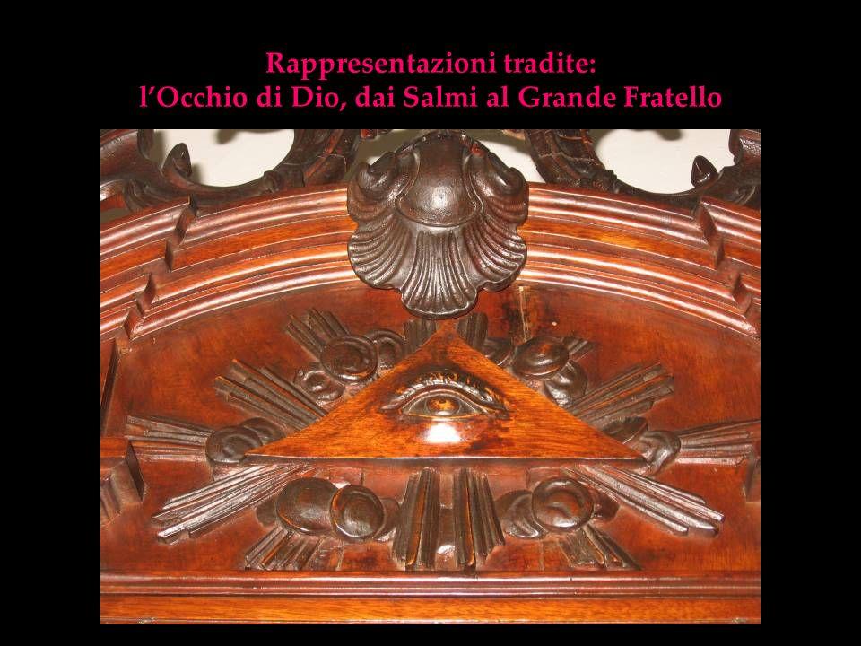 Rappresentazioni tradite: lOcchio di Dio, dai Salmi al Grande Fratello