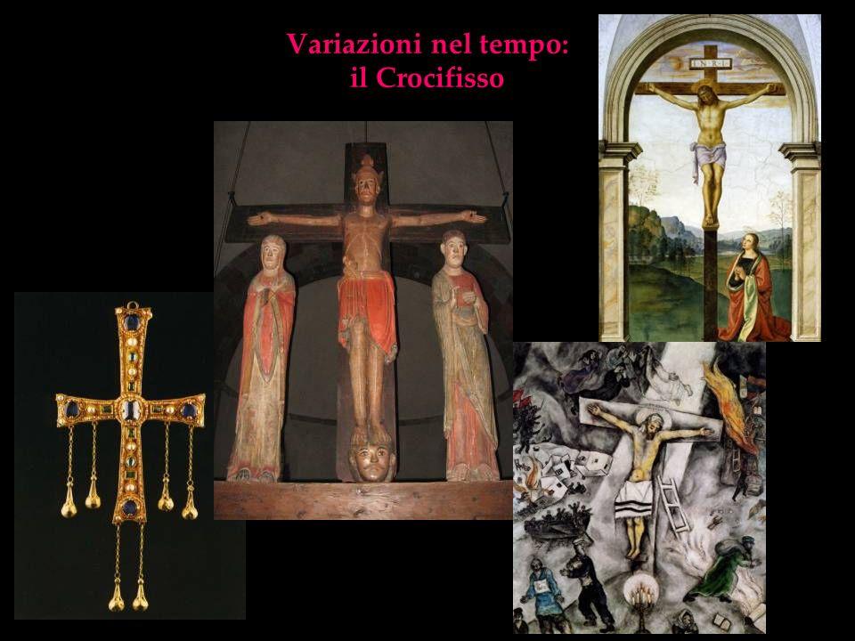 Variazioni nel tempo: il Crocifisso
