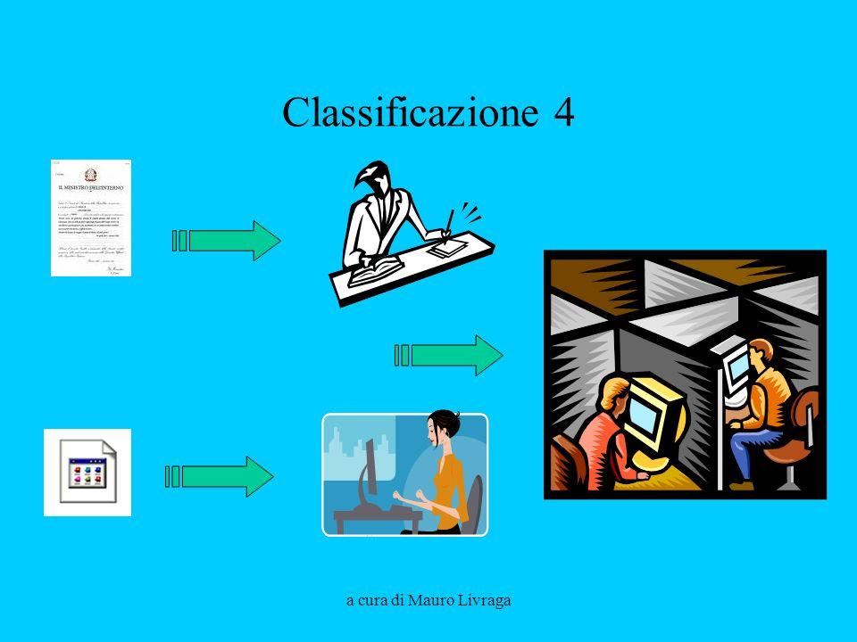 a cura di Mauro Livraga Classificazione 4