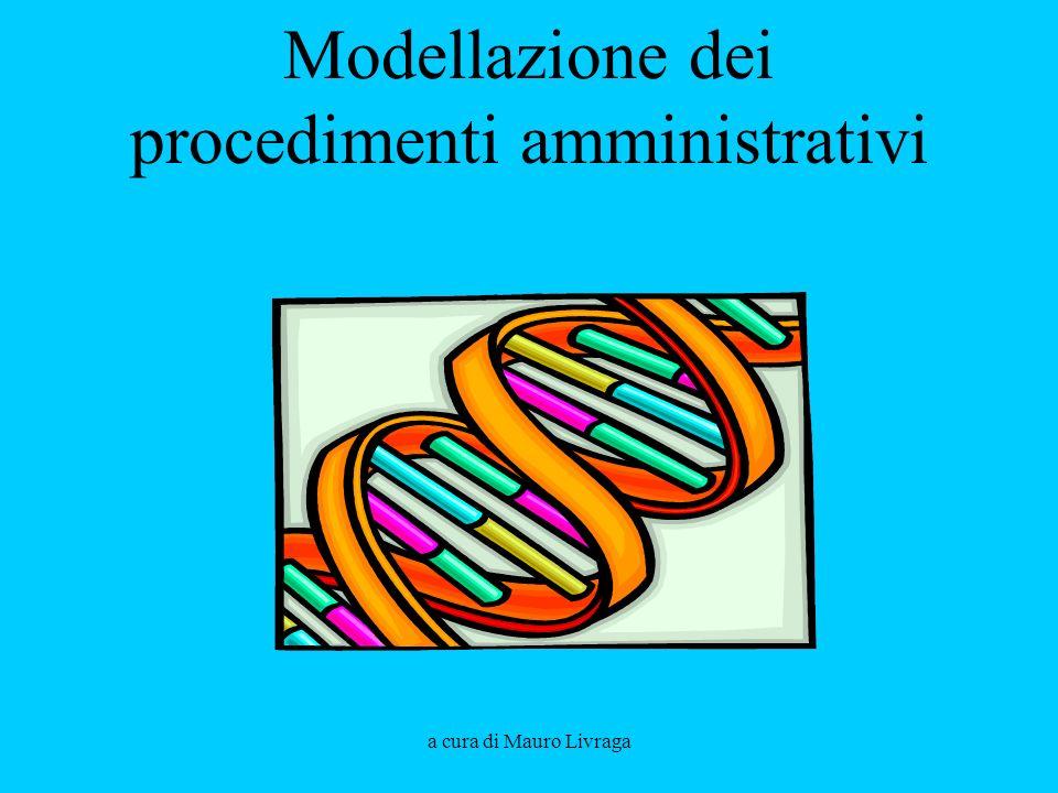 a cura di Mauro Livraga Modellazione dei procedimenti amministrativi