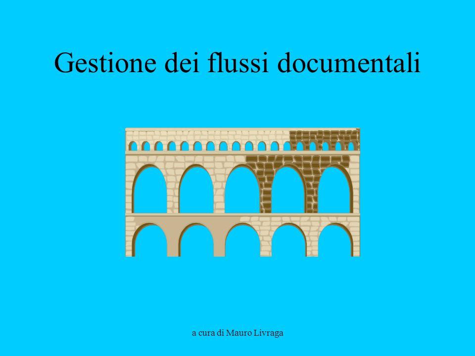 a cura di Mauro Livraga Gestione dei flussi documentali