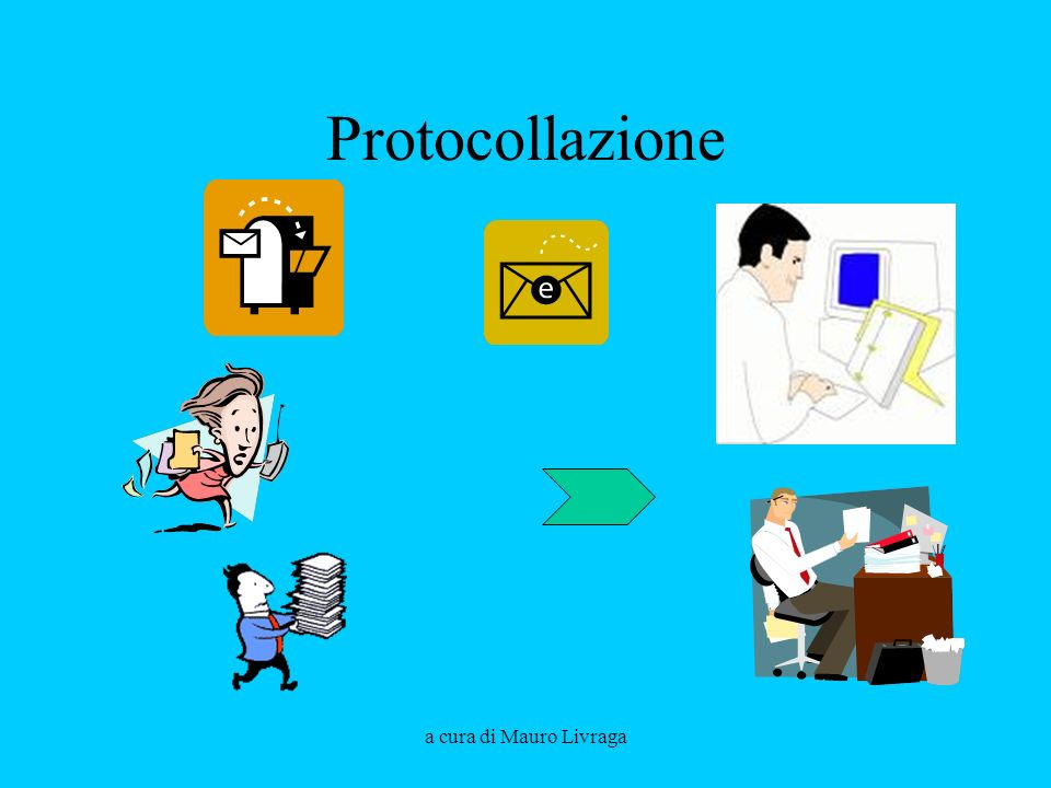 a cura di Mauro Livraga Formazione dei documenti/1 I documenti sono prodotti da parte degli uffici del soggetto produttore (interni o in partenza): -redazione; -registrazione; -condivisione e perfezionamento; -sottoscrizione.