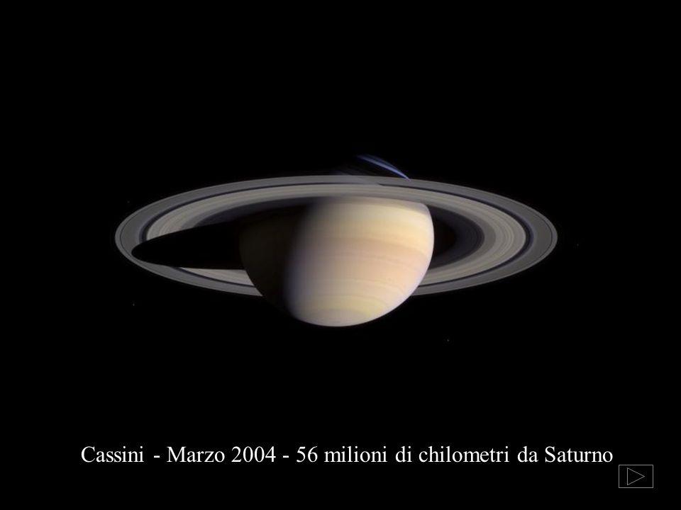 Cassini - Marzo 2004 - 56 milioni di chilometri da Saturno