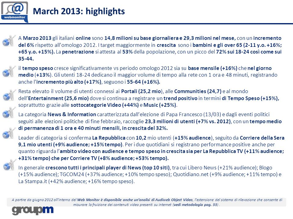 23 March 2013 – Focus on News Online All players register a good performance.