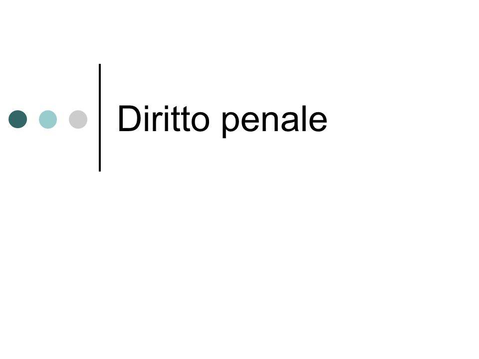 Diritto penale