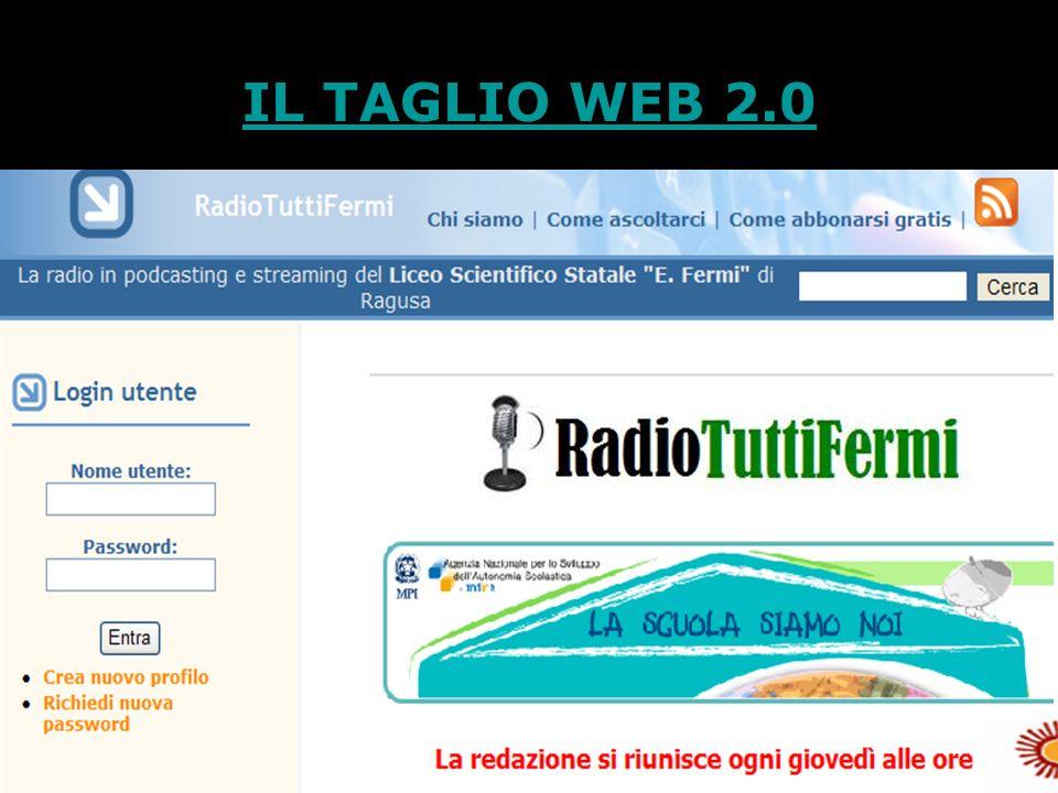 IL TAGLIO WEB 2.0