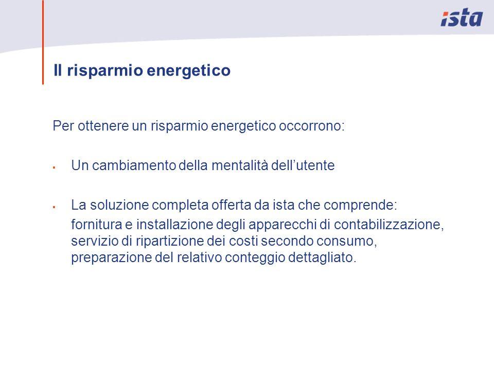 Contabilizzazione del calore con ista: Il modello italiano derivato