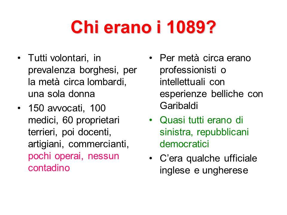 Chi erano i 1089.
