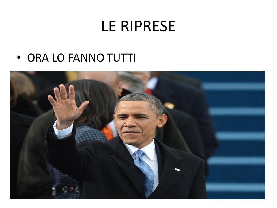 LE RIPRESE ANCHE IN ITALIA