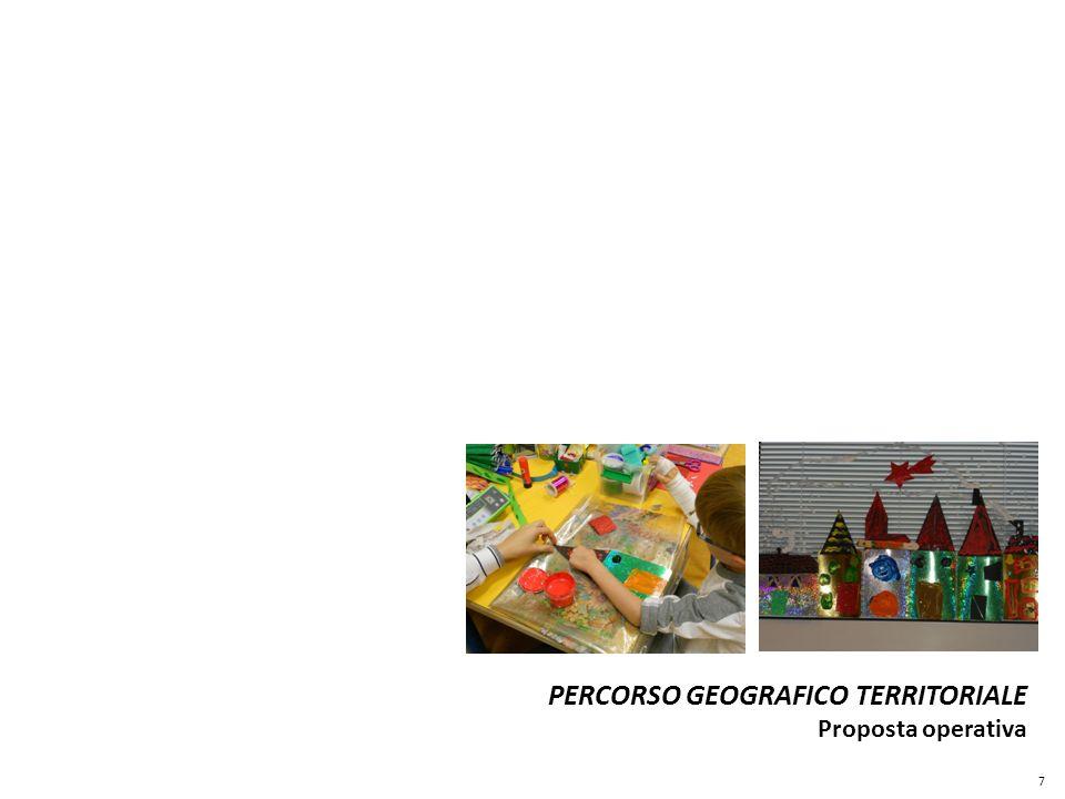 PERCORSO GEOGRAFICO TERRITORIALE Proposta operativa 7