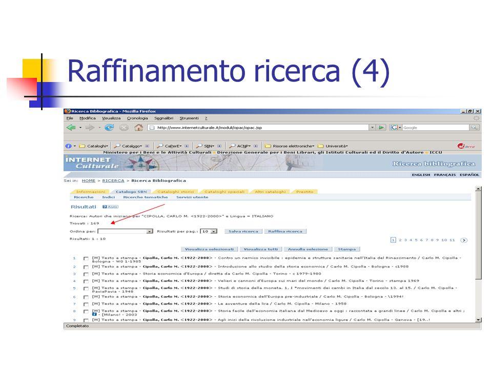 Raffinamento ricerca (4)