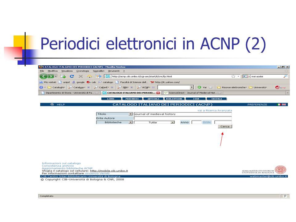 Periodici elettronici in ACNP (2)